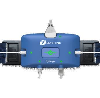 One of the devices, ZSynergy, used during a sleep study to diagnose an individual with sleep apnea